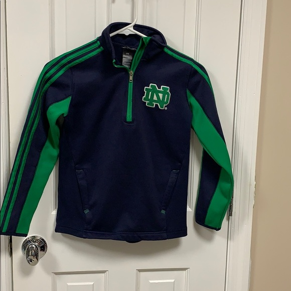 Adidas youth ND quarter zip size youth small (8)